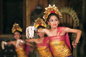 Pendet Dance of Bali
