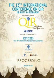 QiR 2013 Proceeding