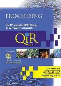 QiR 2009 Proceeding