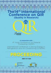 QiR 2015 Proceeding